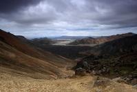 Islande - Landmannalaugar : Paysage, Islande, Landmannalaugar, Volcan