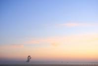 Lever de soleil : Paysage, Lever du soleil, Plaine, Bocage