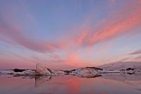 Islande - Jokulsarlon : Paysage, Islande, Jokulsarlon, Lagune glaciaire
