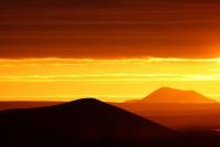 Islande - Myvatn : Paysage, Islande, Soleil de minuit