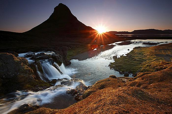 Islande Kirkjufellsfoss